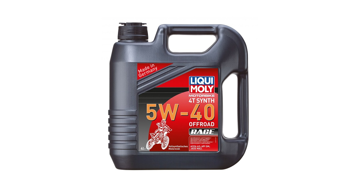 Liqui Moly Motorbike 4T Synth Offroad Race 5W-40 (4л.) 3019